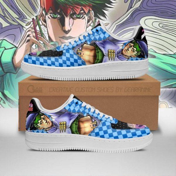 rohan kishibe air force sneakers jojo anime shoes fan gift idea pt06 gearanime - Jojo's Bizarre Adventure Merch