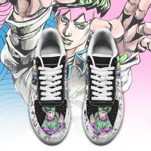 rohan kishibe air force sneakers manga style jojo anime shoes fan gift pt06 gearanime 2 - Jojo's Bizarre Adventure Merch