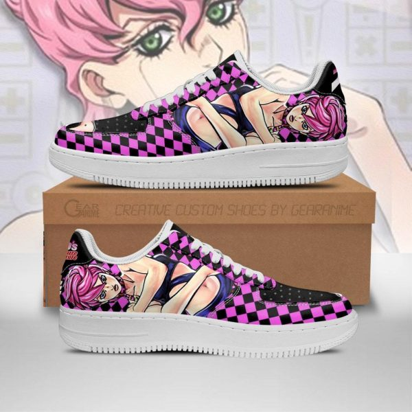 trish una air force sneakers jojos bizarre adventure anime shoes fan gift idea pt06 gearanime - Jojo's Bizarre Adventure Merch