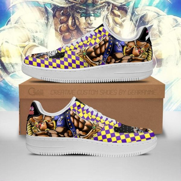 wammu air force sneakers jojo anime shoes fan gift idea pt06 gearanime - Jojo's Bizarre Adventure Merch