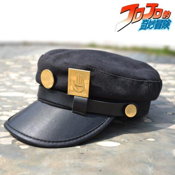Anime JoJo s Bizarre Adventure Cosplay Cap Jotaro Kujo Joseph Hat Army Military JOJO Caps Hats 2 - Jojo's Bizarre Adventure Merch