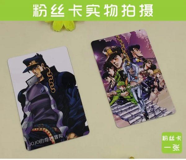 JOJOs Bizarre Adventure Anime Gift Box Notebook Poster Postcard Badge Sticker Wristband Mirror Holiday Gifts Fans 2 - Jojo's Bizarre Adventure Merch