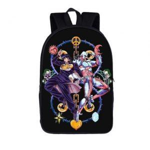JoJo's Bizarre Adventure - Josuke igashikata and Crazy Diamond Backpack Jojo's Bizarre Adventure Merch