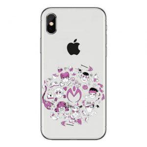 JoJo's Bizarre Adventure - Diamond is Unbreakable Chibi iPhone Case Jojo's Bizarre Adventure Merch