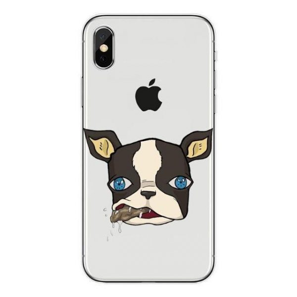JoJo's Bizarre Adventure - Iggy Chewing Gum iPhone Case Jojo's Bizarre Adventure Merch