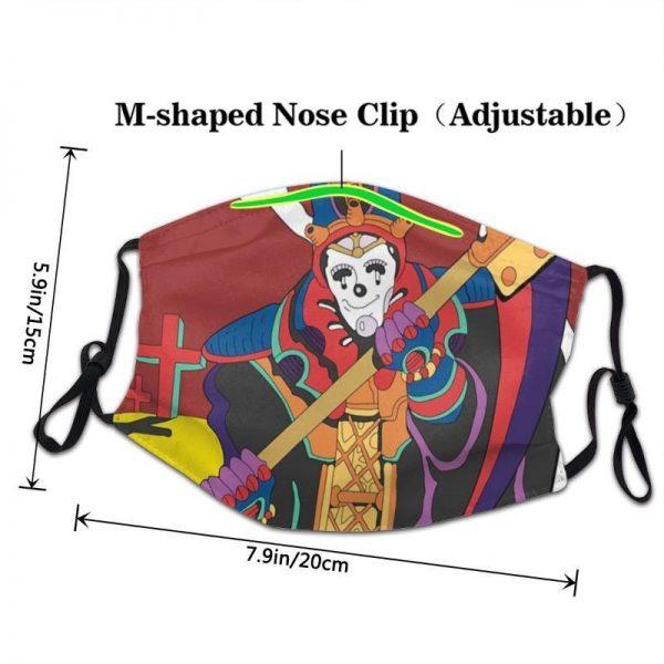 JoJo's Bizarre Adventure - Death Tirteen Face Mask Jojo's Bizarre Adventure Merch