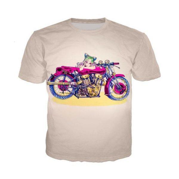 JoJo's Bizarre Adventure  Jolyne Cujoh Stone Ocean T-Shirt Jojo's Bizarre Adventure Merch
