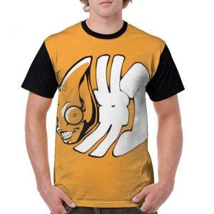 JoJo's Bizarre Adventure  Sex Pistols Skeleton T-Shirt Jojo's Bizarre Adventure Merch