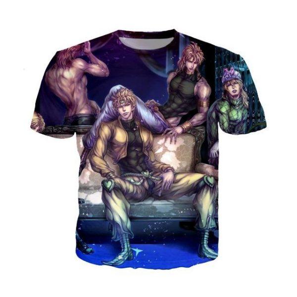 JoJo's Bizarre Adventure  Dio's Mansion T-Shirt Jojo's Bizarre Adventure Merch