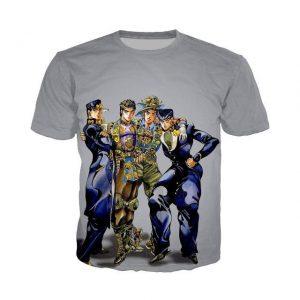 JoJo's Bizarre Adventure  Joestar Family Stylish T-Shirt Jojo's Bizarre Adventure Merch