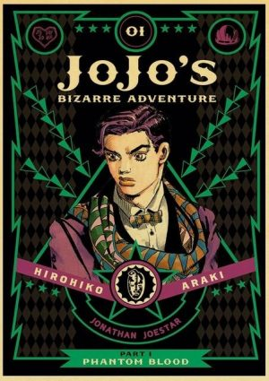 JoJo's Bizarre Adventure - Phantom Blood Manga Poster Jojo's Bizarre Adventure Merch