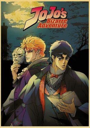 JoJo's Bizarre Adventure - Phantom Blood Poster Jojo's Bizarre Adventure Merch