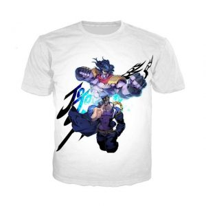 JoJo's Bizarre Adventure  Jotaro Star Platinum T-Shirt Jojo's Bizarre Adventure Merch