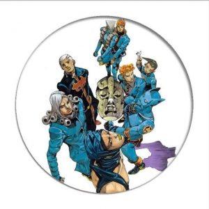 JoJo's Bizarre Adventure - Main Villains Pin Jojo's Bizarre Adventure Merch
