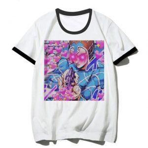 JoJo's Bizarre Adventure - Guido Mista Hearts and Appreciation T-shirt-jojo Jojo's Bizarre Adventure Merch