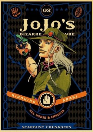 JoJo's Bizarre Adventure - Stardust Crusaders Hol Horse & Emperor Poster Jojo's Bizarre Adventure Merch