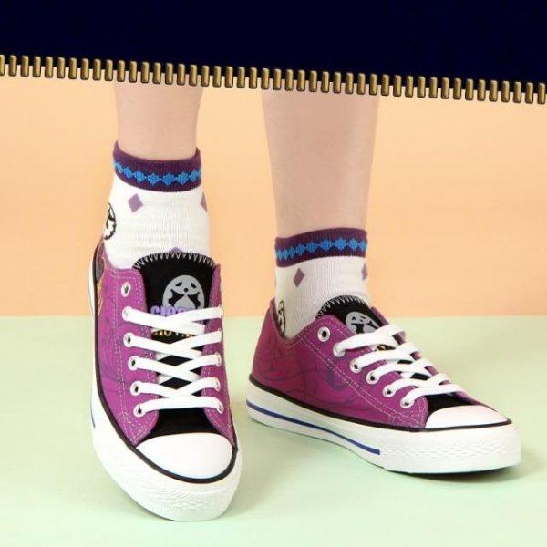 JoJo's Bizarre Adventure - Giorno Giovanna Shoes Jojo's Bizarre Adventure Merch