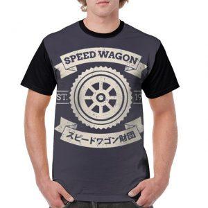 JoJo's Bizarre Adventure - Speed Wagon Symbol T-shirt-jojo Jojo's Bizarre Adventure Merch