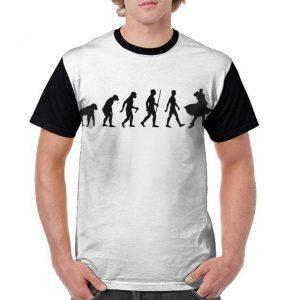 JoJo's Bizarre Adventure - Jojo Human Evolution T-shirt-jojo Jojo's Bizarre Adventure Merch