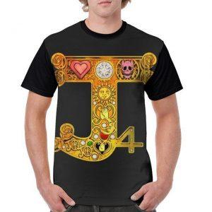 JoJo's Bizarre Adventure - Diamond is Unbreakable Part 4 Symbols T-shirt-jojo Jojo's Bizarre Adventure Merch