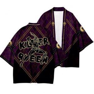 JoJo's Bizarre Adventure - Killer Queen Stylish Kimono Jojo's Bizarre Adventure Merch