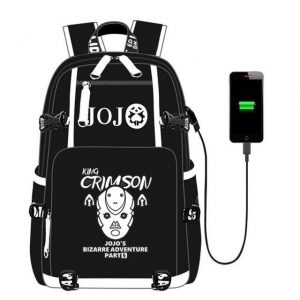 JoJo's Bizarre Adventure - King Crimson Stand Backpack Jojo's Bizarre Adventure Merch