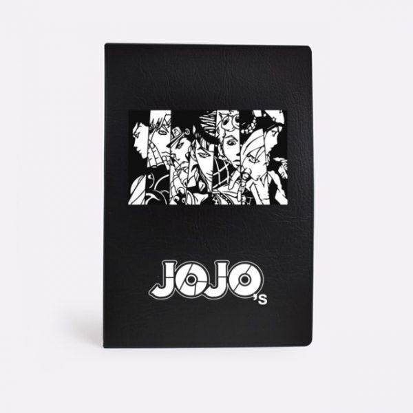Anime Jojo Bizarre Adventure Cosplay Dio Notebook Black Stationery Gifts Student School Study Tool Notebook CS148 1.jpg 640x640 1 - Jojo's Bizarre Adventure Merch