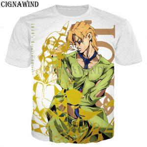 New Arrival T Shirt Men women Anime JoJo Bizarre Adventure 3D Printed T shirts Casual Harajuku 1 - Jojo's Bizarre Adventure Merch