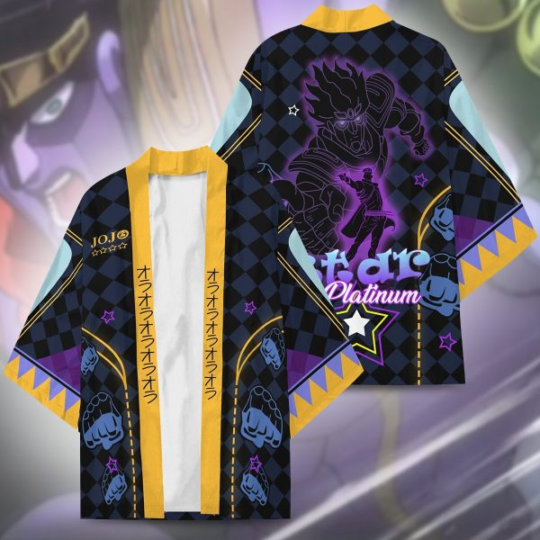 star platinum kimono 679305 - Jojo's Bizarre Adventure Merch