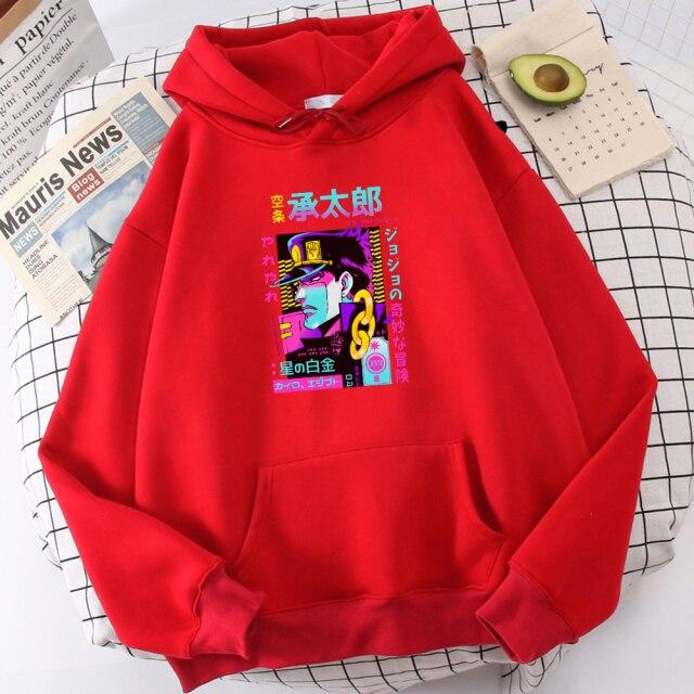 Star Platinum Jojo Bizarre Adventure Prints Mens Hoodies Warm Casual Streetwearthick Fashion Hooded Oversized Soft Men 8.jpg 640x640 8 - Jojo's Bizarre Adventure Merch